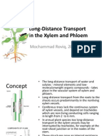 Lect_note#2_Plant_Nutrient_MRQ_2011 _Long-Distance Transport in the Xylem and Phloem