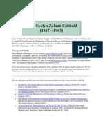 Lady Evelyn Zainab Cobbold had
