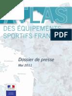L'Atlas des équipements sportifs français