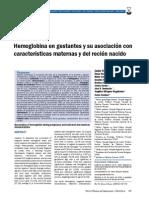 Correlacion Clinica Anemia