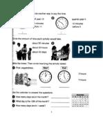 G2 - Math Revision Worksheets [May 2011]