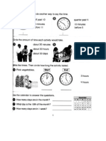 G2 - Math Revision Worksheets [May 2011]