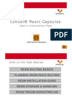 Resin Information Pack - Jan 2011