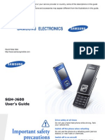 Samsung SGH-J600 Manual