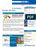 AIESEC UUM Newsletter September 2009