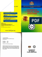 Handbook of Halal Food Additives