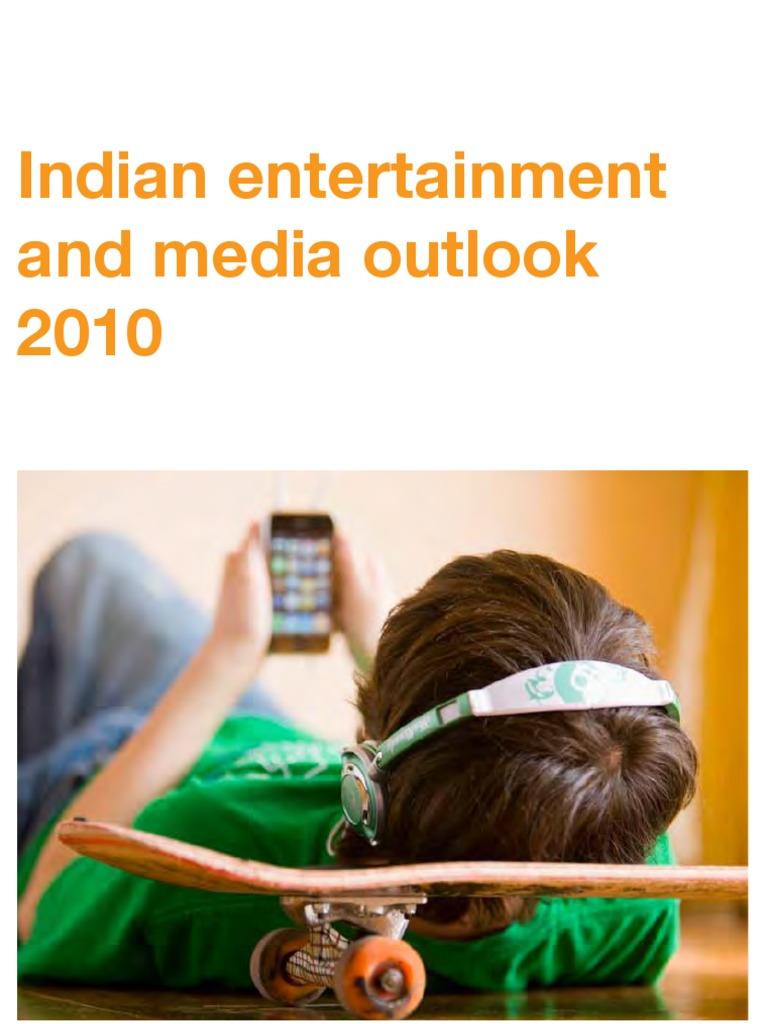 PwC Indian EM Outlook 2010 | Advertising | Iptv