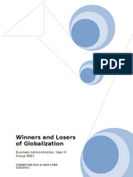 The Winners and Losers of Globalization