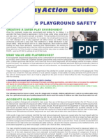 CHILDREN'S PLAYGROUND SAFETY