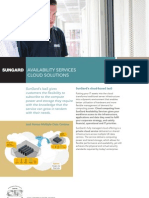 SunGard Cloud Solutions IaaS Brochure