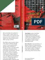 Badiou - Theory of the Subject