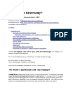 Is Ice Cream Strawberry? transcript (inaugural lecture, City University, March 2011)
