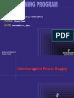 UPS Fundamentals DMRC