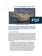 Israël en de Wereldpolitiek Anno 2011 – Hubert Luns