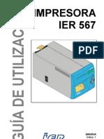 Guia de Utilizacion Impresora Ier 567