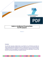 Guide to Intellectual Property Rules for FP7 Projects