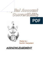 Capital Acnt Convertibility