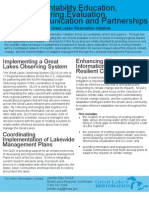 Accountability, Education, Monitoring, Evaluation, Communication and Partnerships funded by the Great Lakes Restoration Initiative