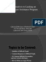 Alternatives to Employee Assistance Program