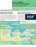 Habitat and Wildlife Protection and Restoration funded by the Great Lakes Restoration Initiative