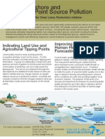 Nearshore and Non-Point Source Pollution funded by the Great Lakes Restoration Initiative