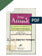 Amado Jorge Los Subterraneos de La Libertad parte 1 Los Asperos Tiempos