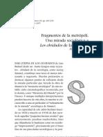 Fragmentos de una metropoli. Una mirada sociologica a Los Olvidados de Luis Buñuel