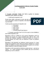 Tabloul General al Răspunderii Civile în Textele Noului Cod Civil