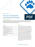 6 Tips to Get Started With Automated Testing
