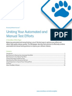 Uniting Automated and Manual Test Efforts