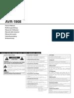 AVR 1908 Manual