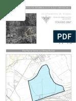 Pp.13.La Alberquilla Este.Plan de ordenación municipal de Toledo. Páginas del Polígono