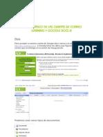 Manejo de Google Docs III (DOCS)