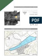 Ua.22.Poligono Industrial.Plan de ordenación municipal de Toledo. Páginas del Polígono