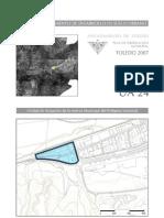 Ua.24.Reserva Municipal Del Poligono Industrial.Plan de ordenación municipal de Toledo. Páginas del Polígono