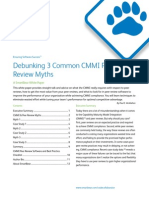 Debunking 3 Common CMMI Peer Review Myths