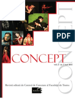 Revista Concept Nr. 2