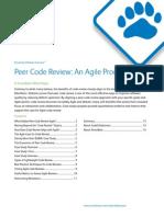 Peer Code Review an Agile Process