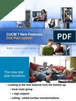 CUCM7-Dial Plan Update