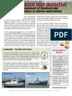 NOAA Green Ship Initiative