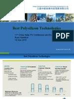 Best Polysilicon Technologies Russ Hamilton