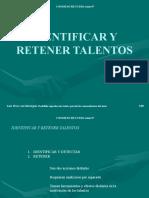 Identificacion y Retencion de Talentos