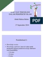 Teknologi Dalam Islam..