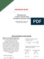 Lista Indicadores de pH