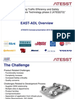 01 EAST-ADL Overview and Structure