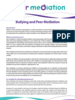 Bullying and Peer Mediation