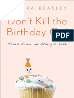 Don't Kill the Birthday Girl by Sandra Beasley - Reading Group Guide