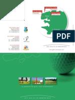 Plaquette des Golfs Bretagne