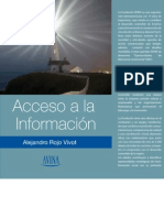 Acceso a la Información - Alejandro Rojo Vivot