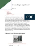 Broadband Fluxgate Magnetometer